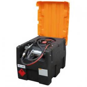CEMO Petrol KS-Mobile Easy 190 litre with hand pump and flap lid