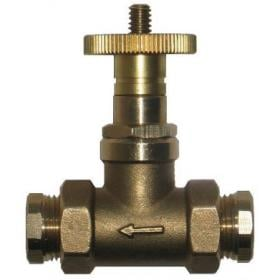 "Fusible Head Fire Valve 3/8"" to 10mm Compression"