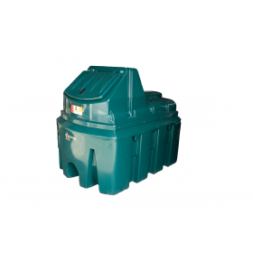 DIP.H1300 - 1300 Litre Plastic Bunded Diesel Dispenser with Hand Pump