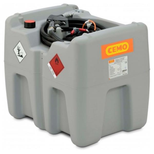 CEMO DT Mobile Easy 210 Litre Diesel Dispenser with CENTRI 12v Pump