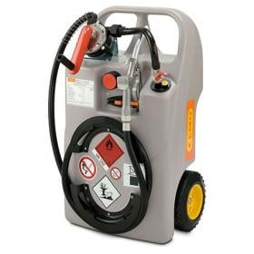 CEMO 60 Litre Diesel Trolley with Hand Pump and Nozzle