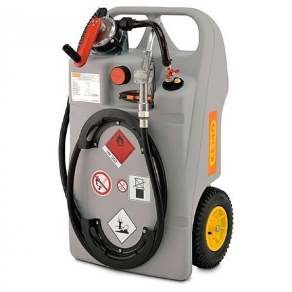 CEMO 100 Litre Diesel Trolley with Hand Pump and Nozzle