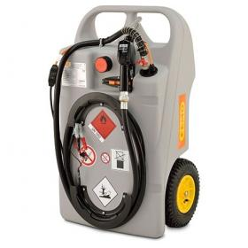 CEMO 100 Litre Diesel Trolley with 12v CENTRI Pump and Automatic Nozzle