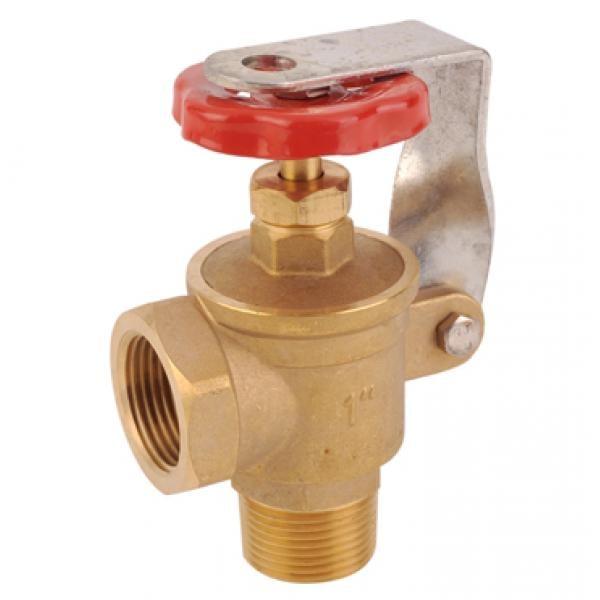 "1"" Locking Angle Brass Gate valve"