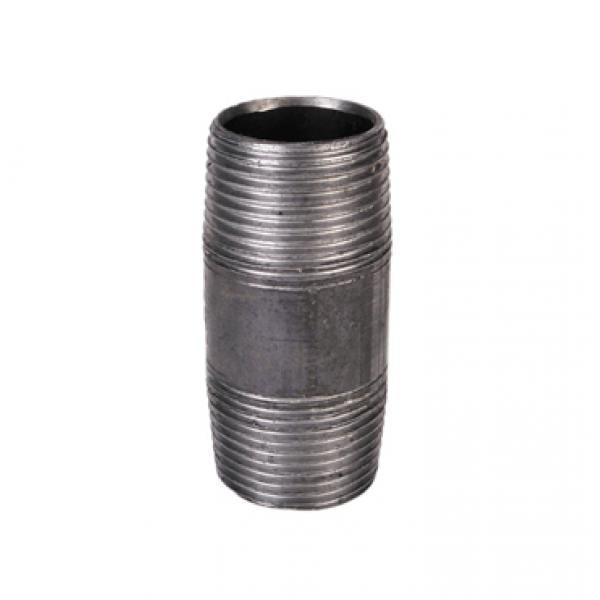"1/2"" Male/Male BSP Barrel Nipple Malleable Black Iron Pipe Fitting"