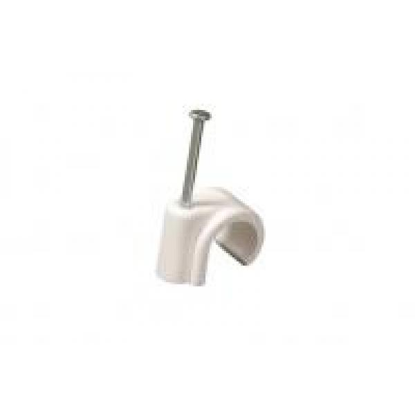 15mm Nail In Pipe Clips (Pack 100)