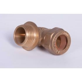 "15mm x 1/2"" Male Elbow connection"