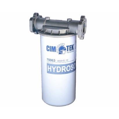 Cim Tek Hydrosorb 110 L/min water and particle filter - complete unit