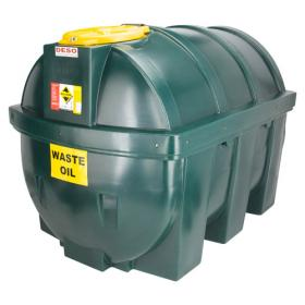 DESO H1800WOW Waste Oil Tank with FREE spill kit