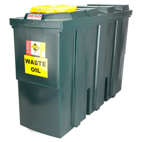 Deso sl1000wow with free spill kit 1000 litre bunded for Motor oil storage container